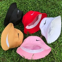 NIKE New fashion embroidery couple cap sunhat five color