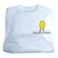 Tandem Youth Volley Chick Volleyball T-Shirt - Volleyball.Com
