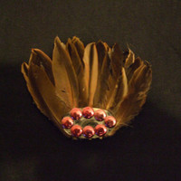 Native american headdress first nations Canada feather by RubyLake