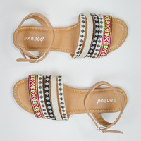 Bright Down The Line Sandals in Multi