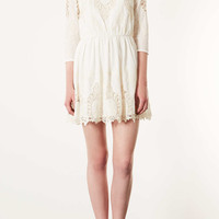 Petite Pendant Embroidered Skater Dress - New In This Week - New In - Topshop USA