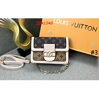 LV 2019 new female color matching shoulder Messenger bag #3