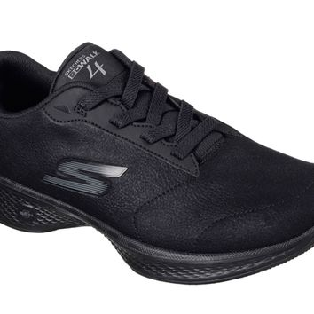 Skechers GOwalk 4 Premier Black Walking Shoes