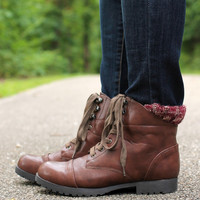 Well Traveled Bootie - Brown