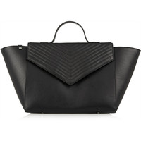 Iris and Ink Lexie chevron-quilted leather tote – 0% at THE OUTNET.COM
