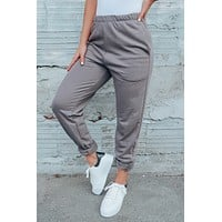 Chill Out Joggers: Charcoal