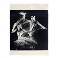 """Herbert Matter """"Indian Dancer: Study in Motion"""" poster, c.1970.  Graphic design education by Reinhold Visuals"""