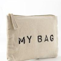 Canvas Makeup Bag - My Bag