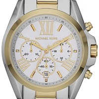 Michael Kors Women's MK5627 Bradshaw Gold/Silver Watch