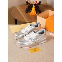 lv louis vuitton womans mens 2020 new fashion casual shoes sneaker sport running shoes 166
