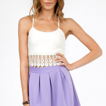 Laurel Canyon Crop Top $22