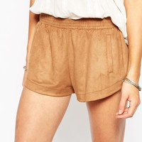 Abercrombie & Fitch Suedette Shorts