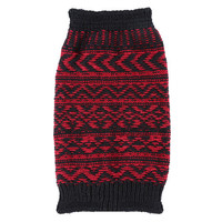 Jacquard Knitted Boot Socks Toppers Cuffs