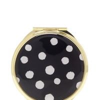 Polka Dot Compact Mirror - Beauty - 1000157984 - Forever 21 UK