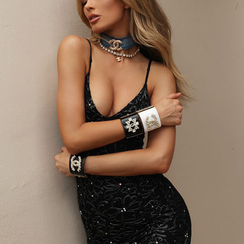 SOLAL IN BLACK LACE