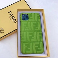 Fendi FF Apple xsmax mobile phone case Europe and America iPhonex high-end xr xsmax men and women 8plus