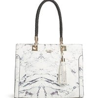 Selena Charm Structured Tote at Guess
