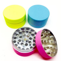Matte Rubber Finish Mini Herb Grinder