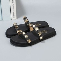 DCCK VALENTINO Women's Leather Sandals