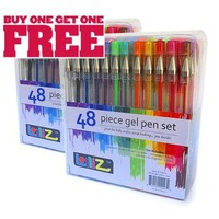 2 Sets of 48 GEL PENS For Adult Coloring Books