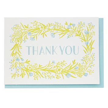 Wildflower Thank You Boxed Note Cards
