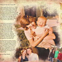 Mother and Son Parents Gift Photo Art Custom Photo Editing