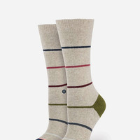 Stance Tumbler Womens Socks Natural One Size For Women 26660042301