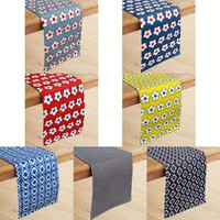 100% Cotton Printed Table Runner 33 x 180 cm by IDC Homewares