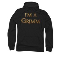 Grimm I'm A Grimm Licensed Adult Pullover Hoodie