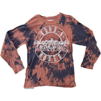 "Hand Bleached Guns""N""Roses Long Sleeve Band Tee"