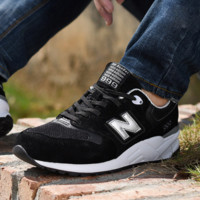 New Balance ML999MMT Fashion Running casual shoes Black golden N