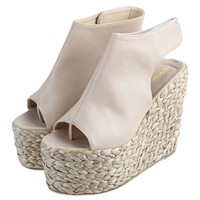 2016 Sexy Women High Heels Sandals Summer Platform Knitted Wedges Shoes for Ladies Fem