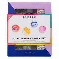 Brit + Co® Clay Jewelry Dish Kit - Makes 4