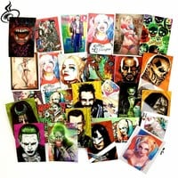27Pcs/Lot Suicide Squad Harley Quinn Graffiti Sticker For Car Laptop Luggage Skateboard waterproof PVC Decal Stickers toys