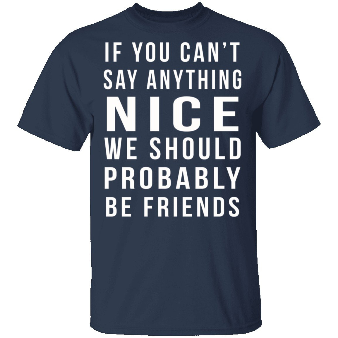 Image of We Should Be Friends T-Shirt