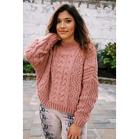 In My Nature Chenille Sweater, Canyon Clay