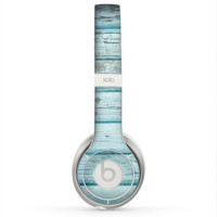 The Subtle Blue Floral Laced Skin for the Beats by Dre Solo 2 Headphones