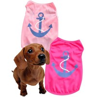 2016 Dog Clothing Dog Vest Summer Wear Summer small dogs clothing cheap dog clothes ropa para perros vestidos