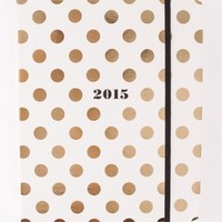 GOLD DOT PLANNER by KATE SPADE