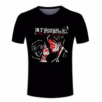 My Chemical Romance New T-shirt  three cheers for sweet revenge T Shirts Man Crew neck short sleeve 3D Tops Tees Plus size S-4XL