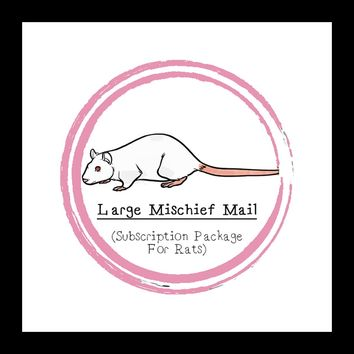 Large Mischief Mail Package │ Rat │ Subscription