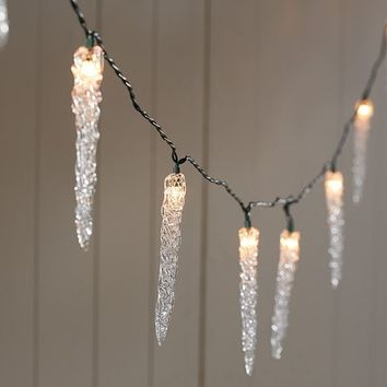 Icicle String Lights | Pottery Barn