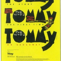 Tommy 11x17 Broadway Show Poster (1993)