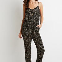 Tribal Print Cami Jumpsuit