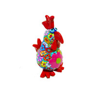 chicken sculpture made with polymer clay-animal Collectibles