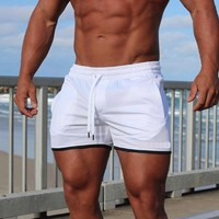 SUOTF Adult men's beach pants, quick-drying, loose, large size, quick-drying men surfing shorts board short for swimw