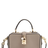 Dolce&Gabbana 'Rosaria' Pebbled Leather Crossbody Bag