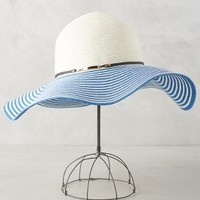 Eugenia Kim Cecily Striped Floppy in Blue Size: One Size Hats
