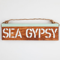 Sea Gypsy Sign Turquoise One Size For Women 25291524101