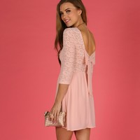 Promo-pretty And Pink Dress